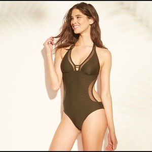 NWOT Shore & Shade | One Piece Swimsuit Med